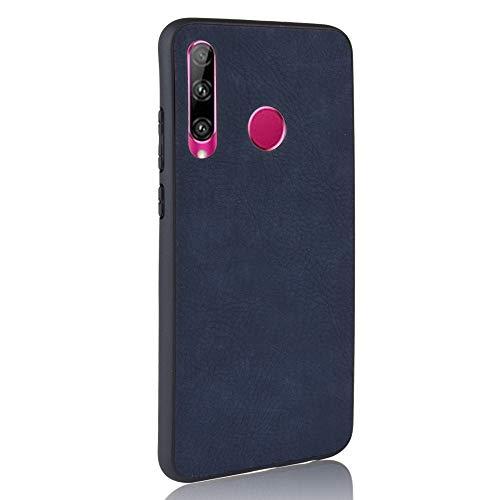 MOYOFEE JYMD AYDD Shock APROXIONES Shove Skin PC + PU + TPU Funda para Huawei P Smart Plus 2019 / Disfrute de 9s (Negro) (Color : Blue)