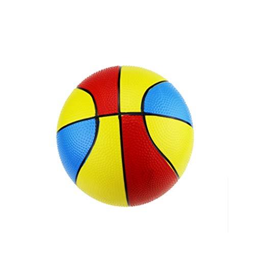 Peuter/kinderen vervanging Mini speelgoed basketbal Rubber basketbal voor-opblaasbare bal milieubescherming materiaal, zacht en veerkrachtig, geschilderd