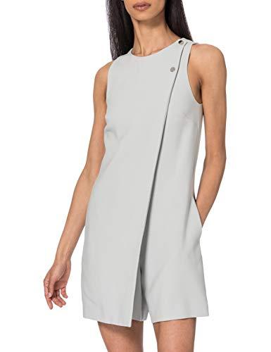 Armani Exchange Womens Fluid Jumpsuit, High Rise, 0