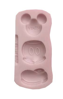 COMPLETE MICKEY MOUSE I cute set , (MEASUREMENTS SECOND PICTURE/ NO RETURNS ) Disney ,Silicone Mold By Oh! Sweet Art