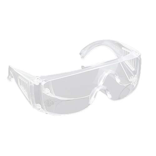Dacitiery Gafas de protección con contraventanas, resistentes a las salpicaduras y al polvo, resistentes a los impactos transparentes (*1)