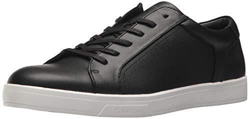 Calvin Klein Men's BOWYER Sneaker, Black, 10.5M