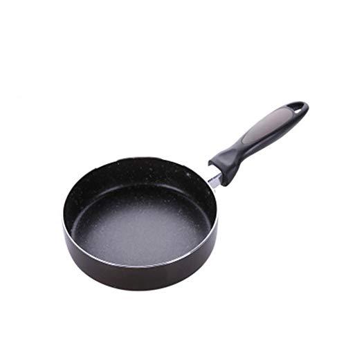 Fablcrew Mini Poêle à Frire Anti-adhésive, Mini Poêle à Oeufs Frits Pancake,Petits Poêle à Frire Casserole Antiadhésive Générale pour Les Cuiseurs à Gaz et à Induction,Diamètre 16CM