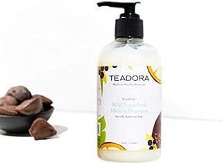 Brazilian Radiance Sulfate-Free Shampoo, Vegan, Argan Cupuacu Acai Buriti, Gentle, Best for Damaged, Frizzy, Color and Keratin Treated Hair, Moisturizing Shampoo, All Hair Types