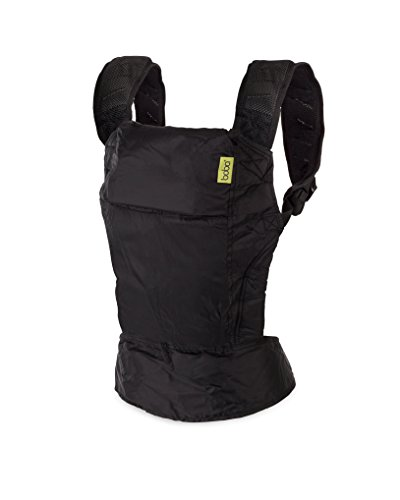 Boba Air Baby Carrier - Black - Breathable mesh Shoulder Straps, Padded Leg Openings for Extended Support and Comfort
