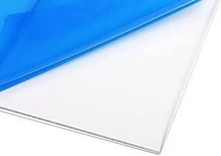 Clear Acrylic Plexiglass, Cut to Size, 1/8
