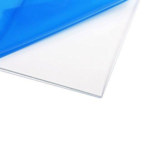 """Clear Acrylic Plexiglass, Cut to Size, 1/8"""" Thickness, 7 Sizes (5""""x7"""")"""