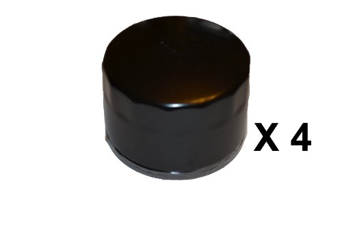 Pack of 4 Oil Filters for Briggs & Stratton 492932,492932S,695396,696854
