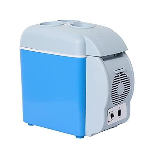 TISHITA Refrigerador portátil congelador de 7,5 litros, 12 voltios, refrigerador de Coche de 12 V CC, refrigerador portátil para Coche Apto para Camiones, RV,