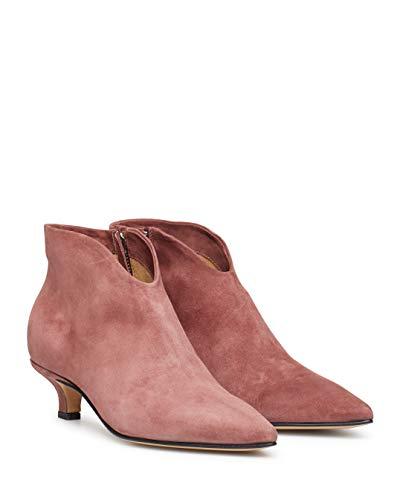 Damen Schuhe Stiefeletten POMME DOR 4660 Autumn Rose Wildleder