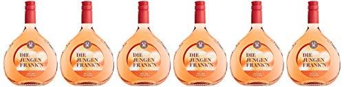 DIE JUNGEN FRANK´N Rotling halbtrocken, Roséwein aus Franken, , 6er Pack (6 x 0.75 l)