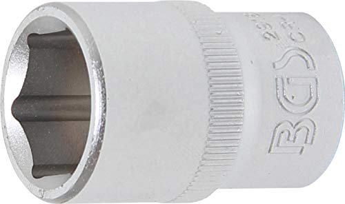 BGS 2918 | Steckschlüssel-Einsatz Sechskant | 12,5 mm (1/2') | SW 18 mm