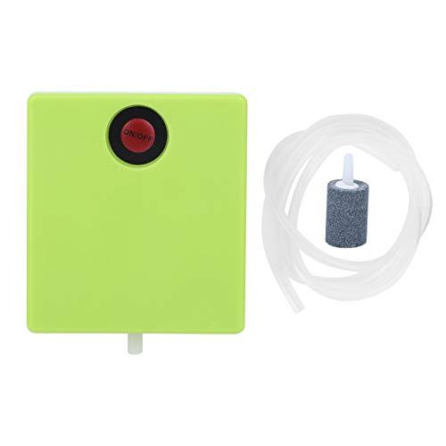 Pwshymi Luftpumpe Trockenbatterie Mini Aquarium Luftpumpe Einfache Sauerstoffpumpe Leichtgewicht zuverlässig Zuverlässig für Notfälle beim Ausschalten