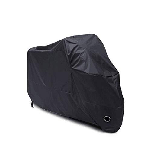 N / A Funda Impermeable portátil para Bicicleta y Motocicleta para Exteriores, Tela Oxford 420D, Multifuncional, Doble Aguja, protección UV, lo Suficientemente Grande, antirrobo