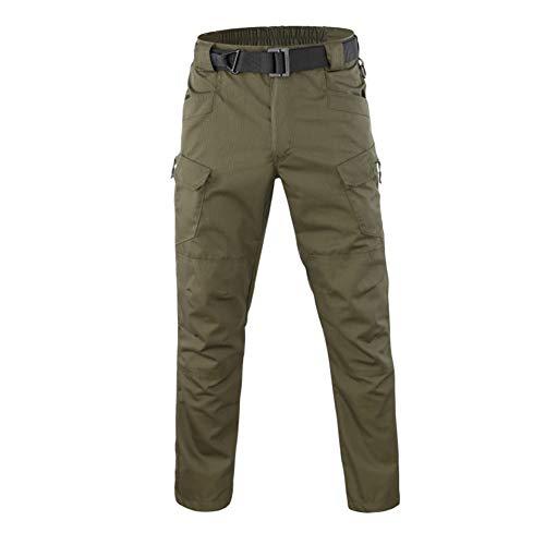 Bruce Lin Hombre Militar Táctica Camuflaje Pantalones Primavera Al...