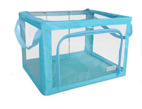 Foldable Transparent PVC Storage Set (Includes one 66L & one 22L)