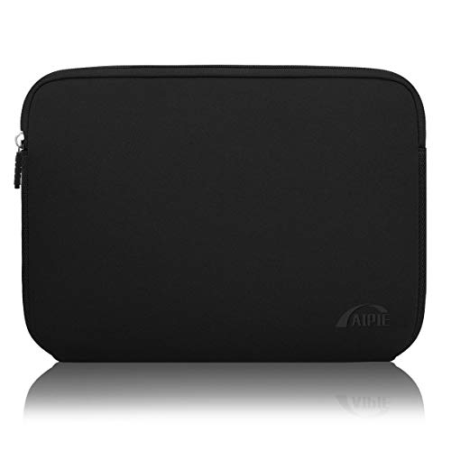 AIPIE Laptop Sleeve 15-15.6 Inch Notebook Case Bump Absorb Briefcase Carrying Bag Compatible with MacBook, Acer, Asus, Dell, Lenovo, Microsoft, HP Durable Laptop Cover (Blacks, 15.6 inch)