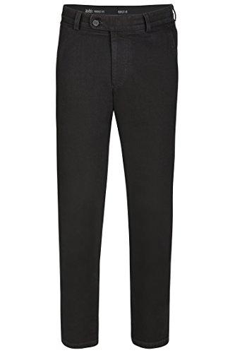 aubi: Herren Jeans Hose Stretch Modell 526 Black Größe 29