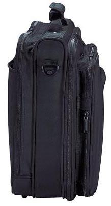 『エレコム ビジネスバッグ キャリングバッグ A4対応 16.4インチ ワイド クラムシェルタイプ ブラック BM-SA04BK』の2枚目の画像