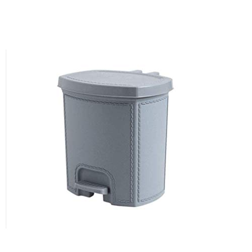 Pedal de la basura Pedal de la sala de estar Pedal de la basura grande de la basura de la basura del hogar Cocina de la cocina Pequeña basura de la basura de la basura de la basura del baño Dormitorio