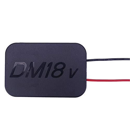 Compatible para DeWalt/Milwaukee M18 18V / 20V batería de Litio convertir a Adaptador de Bricolaje para 48-11-1820 48-11-1840 48-11-1850 48-11-1860 48-11-1828 48-11-10 batería de Iones de Litio etc.
