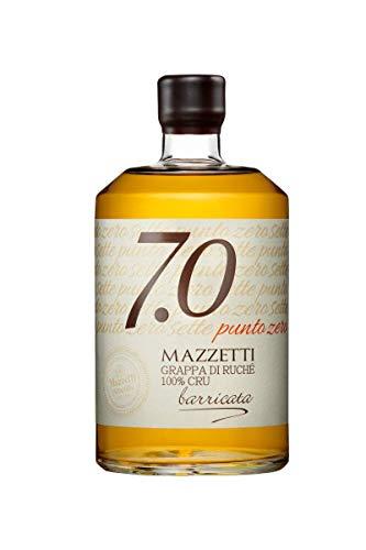 Mazzetti 7.0 Grappa di Ruche 0,7 L 100% Cru Riserva in Barriques