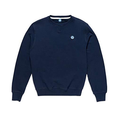 North Sails Herren Lowell Round Neck Sweater - Weich Atmungsaktiv - M
