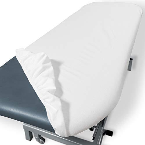Dr. Güstel Waschfaserlaken ® SPECIAL Liegen-Spannbezug 1 Stück weiss 1-seitig folienbeschichteter PU-Bezug 70x190x10cm STANDARD 100 by OEKO-TEX® zertifiziert
