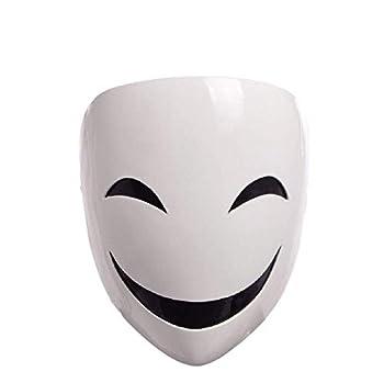 GK-O Anime Black Bullet Kagetane Hiruko Mask Cosplay Costume Prop Halloween mask