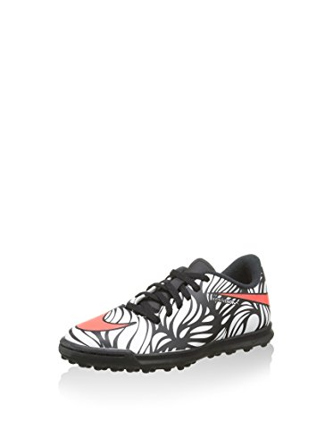 Nike Jr Hypervenom Phade II NJR Tf, Scarpe da Calcio Unisex-Kids, Bianco/Nero, EU 36 (US 4Y)