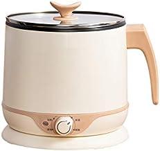 DIAOD Mini Electric Cooker 1-2 Person 1.8L Electric Skillet Dormitory Student Pot Noodle Hot Pot Multi-function Electric C...