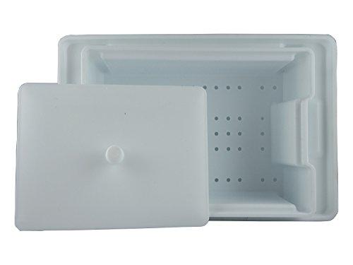 Desinfektionswanne mit Sieb und Deckel 1 Liter, Instrumentenwanne