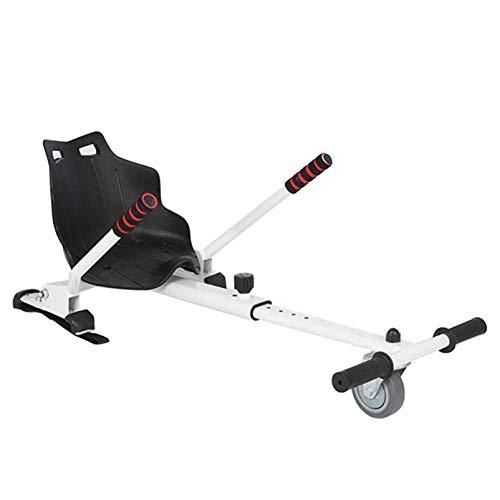 GFYWZ Hoverboard Universal con Asiento, Accesorio De Asiento Hoverboard con Correas Ajustables Hoverboard Self Balancing Scooter para Niños Y Adultos