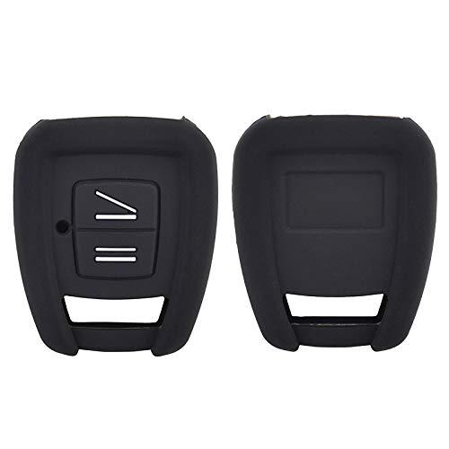 XUKEY - Carcasa de Silicona para Mando a Distancia de Coche, 2 Botones, para Vauxhall, Opel Astra, Zafira, Frontera, Omega Vectra, Signum, Tigra