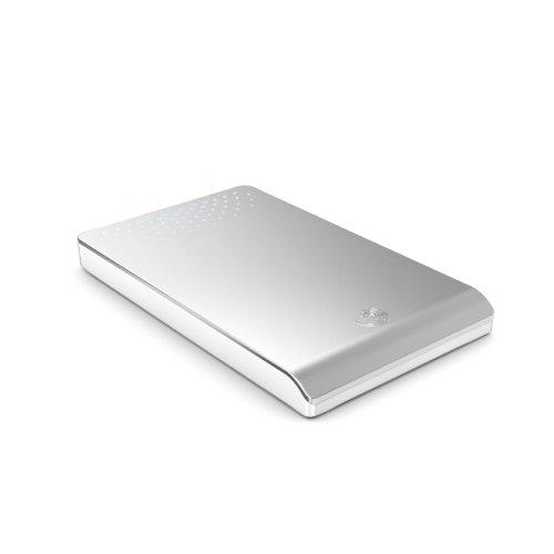 Seagate FreeAgent Go externe Festplatte ST903203FGD2E1-RK 320 GB HDD, 6,4 cm (2,5 Zoll), USB 2.0, silber