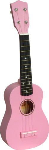 Sherwood SHU12PINK Ukulele Sopran-Ukulele pink mit Tasche