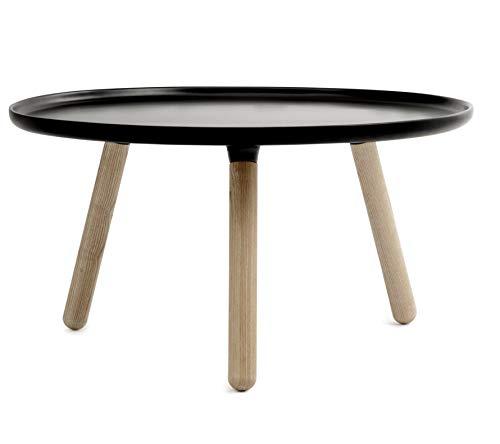 Normann Copenhagen Table d'appoint/Table tablo-Noir-Grand modèle nicholai wiig Hansen, Noyau en Bois de frêne Table Basse/d'appoint