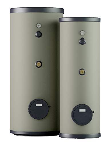 Thermoflux Edelstahl-Solarspeicher bivalent 2 Wärmetauscher 200 Liter