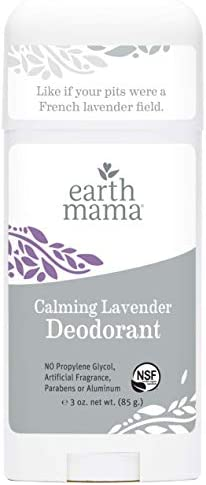 Calming Lavender Deodorant by Earth Mama Natural and Safe for Sensitive Skin Pregnancy and Breastfeeding product image