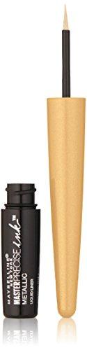 Maybelline New York Master Precise Ink Metallic Liquid Liner, Solar Gold, 0.06 Fluid Ounce