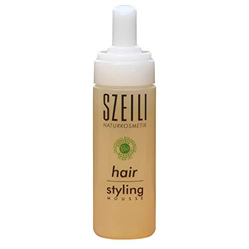 hair styling mousse - natürlicher Bio-Schaumfertiger von SZEILI Naturkosmetik mit Austria Bio Garantie
