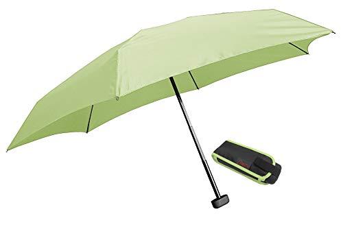 Euroschirm Dainty der Sonnen-, Wander-, Regen- & Trekkingschirm Farbe hellgrün