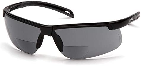 Pyramex Special price for a limited time SB8620R20 Ever-Lite Reader Large-scale sale Black Gray +2.0