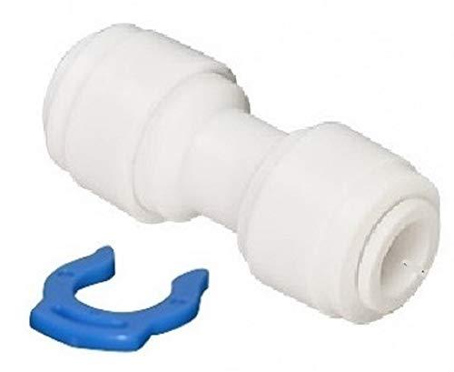 1 Schlauch Verbinder Kupplung Fitting gerade 1/4 Zoll Schlauchanschluss x 1/4