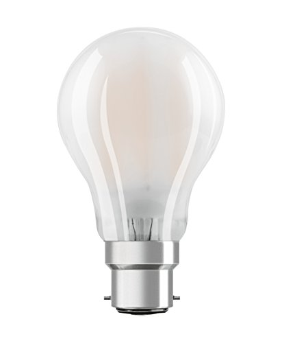 Osram Lampadine LED Goccia, 7W Equivalenti 60W, Attacco B22d, Luce Calda 2700K, Confezione da 3
