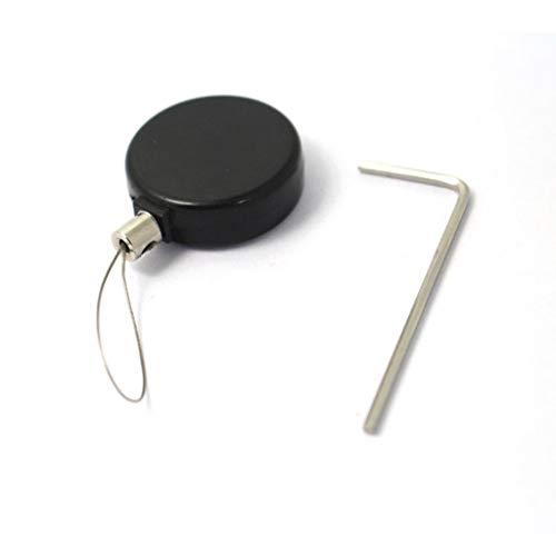 zhiwenCZW Jewelry Phone Watch Diebstahlsicherer einziehbarer Zugverschlusskasten Sicherheitsschlitz