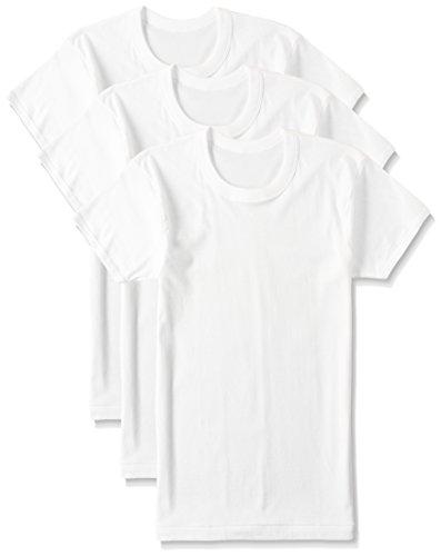 [グンゼ] インナーシャツ 良品紀行 綿100% 半袖丸首 3枚組 SV31143 メンズ ホワイト 日本M (日本サイズM相当)