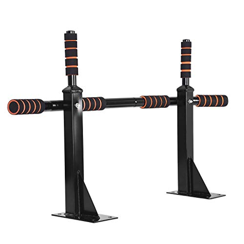 Pull Up Bar Wall Mounted Chin up Bar Strength Training Pull-Up Bars for Home Use, Exercise Bar Upper Body Workout Bar, Horizontal Bar Fitness Equipment, Chinning Up Bars Bracket (Black)
