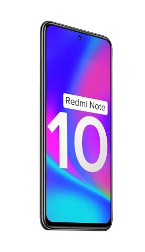 Redmi Note 10 (Shadow Black, 4GB RAM, 64GB Storage) - Amoled Dot Display | 48MP Sony Sensor IMX582 | Snapdragon 678 Processor 5