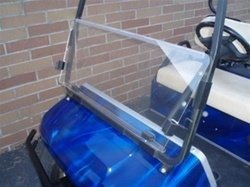Performance Plus Carts Clear Club Car DS Golf Cart Windshield for 2000 & Up